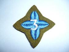 BRITISH ARMY CADET FORCE PROFICIENCY BADGE 3