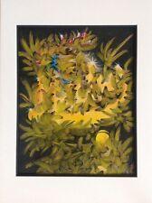 Doug DAVIS,américain actif XXe,amant d'Edith Piaf.Comp.abstraite.SBD.32x23.