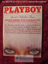 PLAYBOY February 1980 SUZANNE SOMERS SANDY CAGLE LEROY NEIMAN WILLIAM F BUCKLEY