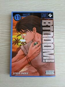 BTOOOM! Volume 11 by Junya Inoue Yen Press English Manga Rare OOP