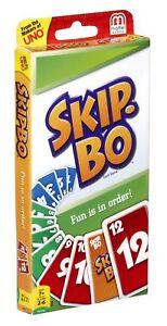 Skip-bo Card Game New & Sealed Free P&P