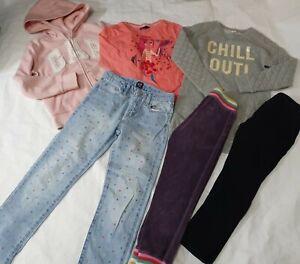 7-8 years girls GAP mini boden bundle Jean's jumper tops joggers (11)