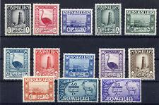 Somalia AFIS, 1950, Soggetti africani (serie cpl 13 val)**