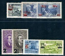 GRAND LIBAN 1938 Yvert 157-163 ** POSTFRISCH AUFDRUCKE (09129
