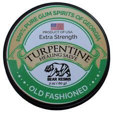 Turpentine Salve  Skin repair, Muscle Pain, Nerve Pain, Eczema, Burns, Psoriasis