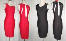 Polyester Scoop Neck Dresses Cut Out