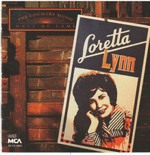COUNTRY MUSIC HALL OF FAME SERIES Loretta Lynn (CD, 1991, MCA)