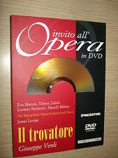 INVITO ALL'OPERA IN DVD N°9 IL TROVATORE VERDI METROPOLITAN OPERA LEVINE 1988