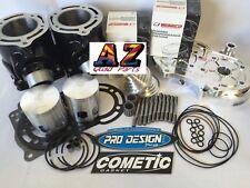 Banshee 66mm 370cc Big Bore Cylinders Pro Design Cool Wiseco Pistons Rebuild Kit