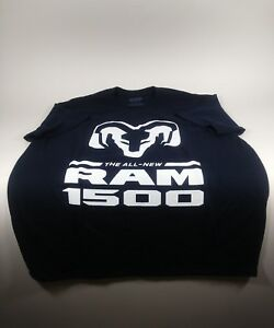 Ram 1500 The All New Ram Black T Shirt Size Large