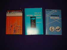 LOT OF 3 BOOKS ON  How to select and install CB antennas