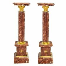 PILLARS BAROQUE STYLE MARBLE PILLARS RED #MB2.5