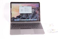 """MacBook 12"""" inizio del 2015 Space Grey 1.1 GHz 8 GB Ram 256 GB ** condizione di grado A **"""