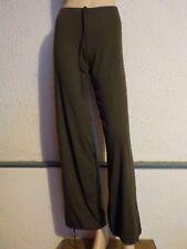 Pantalon de danse, gymnastique  ou fitness TEMPS DANSE PE142,  Kaki en S