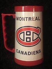 Montreal CANADIENS Vintage Plastic / Acrylic Mug - NHL Coffee Cup No. 480
