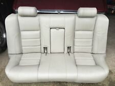 JAGUAR X300 XJ6 AGD Oatmeal Leather Rear Bench seat 94-96 Van Kit camper