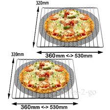 2 universell verstellbar ausziehbar regale ofen herd regal + pizza gitter