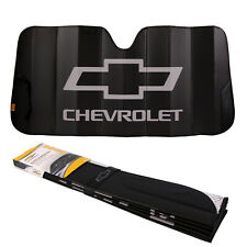"New CHEVY Car Truck Black Windshield Front Folding Sun Shade Sunshade 27""x58"""
