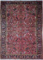 "Authentic  Wool RNR-9197 8' 8"" x 12' 3"" Persian Heriz Rug"