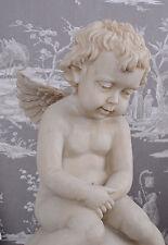STATUA DECORATIVA ANGELO VINTAGE SCULTURA DI ANGELO SCULTURA DA GIARDINO AMOR