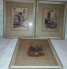 AL Mettel Watercolors - Reproduced in Talio Crome Signed  - 3