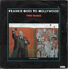 "45 TOURS / 7"" --FRANKIE GOES TO HOLLYWOOD--TWO TRIBES / ONE FEBRUARY FRIDAY-1984"
