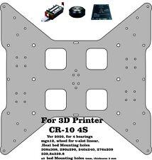 Aluminium CR-10 4s Aluminium Composit 6 mm Heated Bed Support, Y carriage Plate