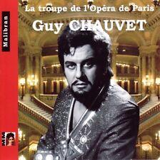 Guy CHAUVET / La Troupe de l'Opera de Paris / (1 CD) / NEUF