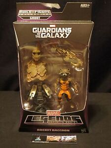 Rocket Raccoon Guardians of the Galaxy Build a Figure Groot Series Marvel legend