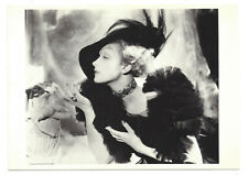 Modern Postcard Marlene Dietrich German-American Actress 1935