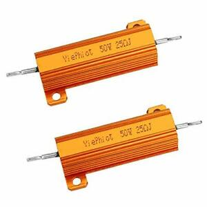 Axial Lead 5/% Tolerance 25W 47 Ohm Resistance NTE Electronics 25W047 Cermet Wire Wound Resistor Flameproof