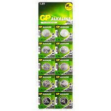 X10 GP alcaline A76 LR44 Piles 1.5V AG13 303 357 V13GA L1154 SR44 exp: 2019