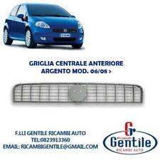 FIAT GRANDE PUNTO 2008 GRIGLIA ANTERIORE PARAURTI MODELLO ARGENTO SENZA FREGIO