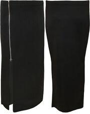 Gonne e minigonne da donna neri maxi in poliestere