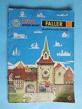 FALLER  Katalog 1965 / 66  Auto Motor Sport AMS Flugzeuge