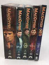 MacGyver Seasons 1-4 7 Series Dvd Set 1 2 3 4 7 Preowned 1985 '86 '87 '88 '91