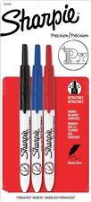 Sharpie Retractable Permanent Marker - Fine Marker Point Type - Assorted Ink - 3