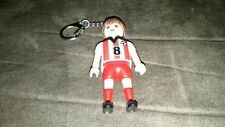 Playmobil Soccer Player Key chain keychain playmobile Play Mobil Mobile figure