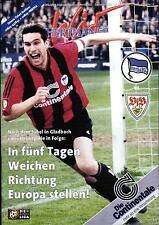 BL 98/99 Hertha BSC - VfB Stuttgart, 10.04.1999 - Poster Eyjölfur Sverrisson