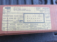FORD MUSTANG NOS SKI RACK D9ZZ-6655100-A 1979 1980