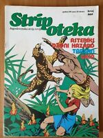 Comic book Tarzan Asterix Johnny Hazard Gaston Stripoteka 660 Yugoslavia 1981