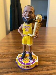 "Los Angeles Lakers #23 LeBron James NBA Finals World Champions 8"" Bobblehead"