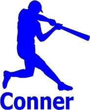 Custom Baseball Softball Decal Sticker Personalized