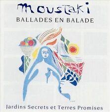 GEORGES MOUSTAKI - Ballades En Balade / Jard - CD - Import - **Mint Condition**