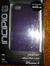 INCIPIO FEATHER ULTRA THIN CASE FOR IPHONE 4& 4GS PURPLE