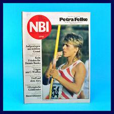 DDR-Zeitschrift NBI 34/1988 - Scharfenstein Schwerin-Mueß Rudern Dennis Banks