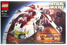 NEW Lego Star Wars 7163 Republic Gunship MISB Free USA SHIPPING