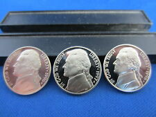 1996 -S JEFFERSON NICKEL Deep Cameo Mirror Proof Upper Grading Ranges 1-coin