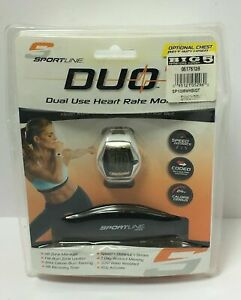 SPORTLINE DUO 1060 WOMEM'S HEART RATE MONITOR, FREE SHIPPING