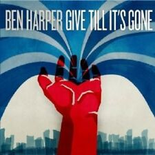 "BEN HARPER ""GIVE TILL IT'S GONE"" CD NEW+"
